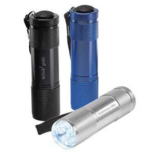 Werbeartikel LED Taschenlampe - www.werbung-schenken.de